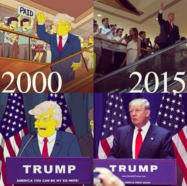 Трамп - президент США