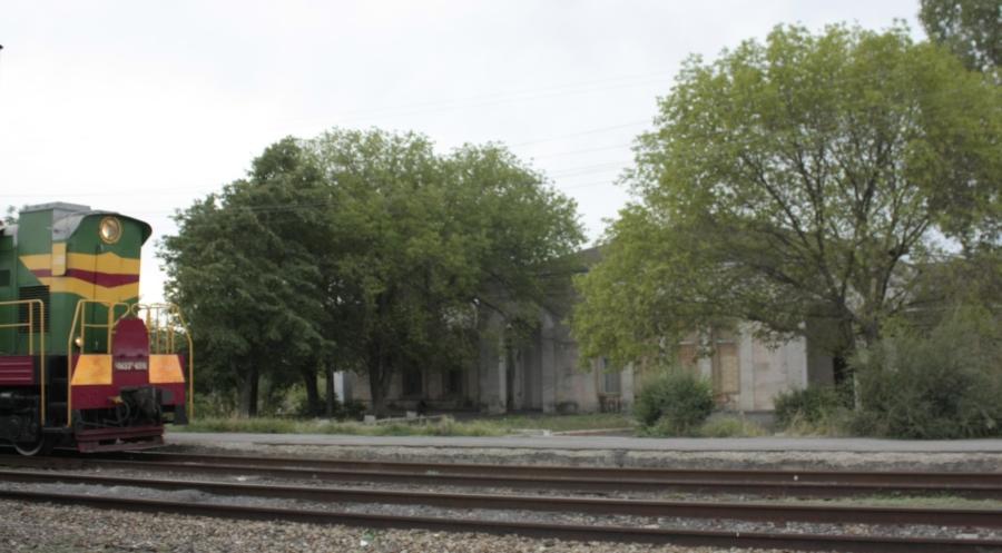 ЖД Вокзал в Цимлянске