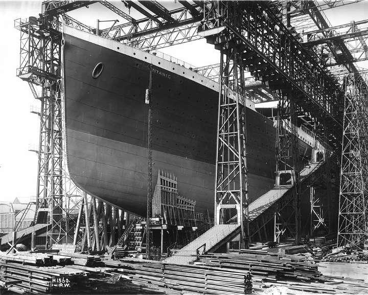 Титаник в верфи