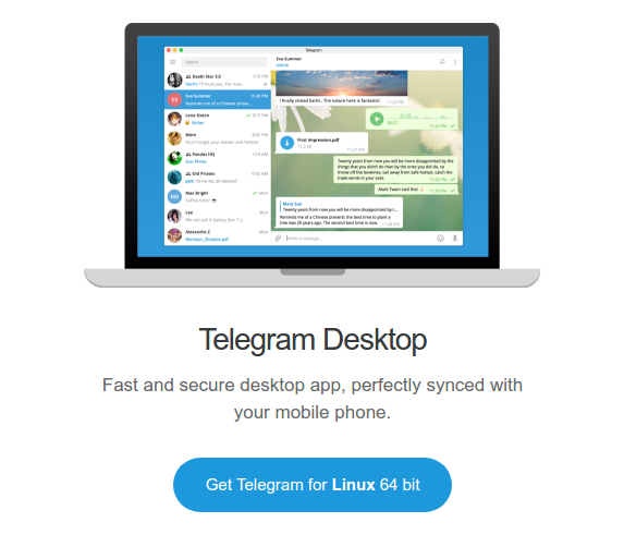 telegram for ubuntu 64 bit